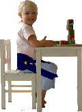 Kiddy-Up helps improve kids' posture!