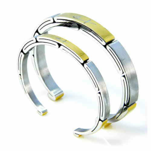 Men's & Women's Two Tone Cuff